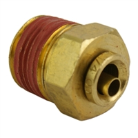 "1/4"" Hose 3/8"" NPT Straight Push-to-Connect"
