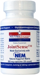 JointSense with NEM - 30 Vegetarian Capsules