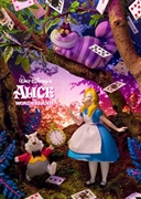 ALICE in Wonderland 3D Lenticular Greeting Card