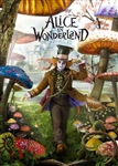 Disney The Hatter Alice's Adventures in Wonderland 3D Lenticular Greeting Card