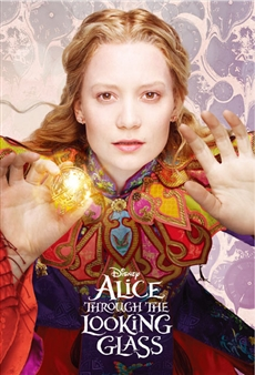 Disney Alice Through the Looking Glass 3D Lenticular Card
