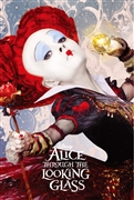 Disney Alice Through the Looking Glass The Red Queen 3D Lenticular Card
