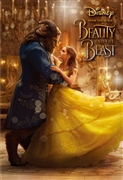 "Disney Beauty and the Beast ""Bell and Beast""3D Lenticular Card"