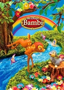 Disney Bambi 3D Lenticular Greeting Card