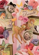 Disney Happy Bambi 3D Lenticular Greeting Card