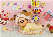 Disney Welcome Baby 3D Lenticular Greeting Card