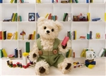 Teddy Bear Bookshelf 3D Lenticular Greeting Card