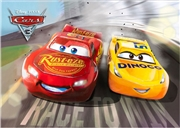 Disney Pixar Cars 3 3D Lenticular Card
