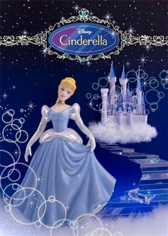Disney Cinderella 3D Lenticular Greeting Card