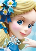 Disney Alice Close-up Series 3D Lenticular Card