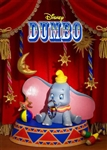 Disney DUMBO 3D Lenticular Greeting Card