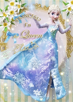 Disney Frozen Queen Elsa Dress Theater 3D Lenticular Card