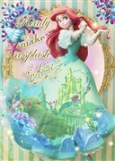 Disney Princess Ariel Dress Theater 3D Lenticular Card