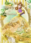 Disney Princess Belle Dress Theater 3D Lenticular Card