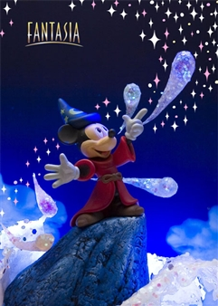 Disney FANTASIA 3D Lenticular Greeting Card