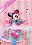 Minnie Birthday Gift Box 3D Lenticular Greeting Card