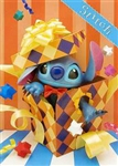 Stitch Birthday Box 3D Lenticular Greeting Card
