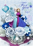 Disney Frozen Elsa and Anna Bouquet Series 3D Lenticular Card