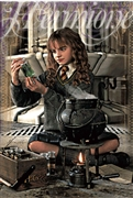 Harry Potter Hermione Granger 3D Lenticular Card