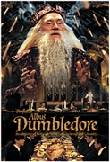 Harry Potter Dumbledore 3D Lenticular Card