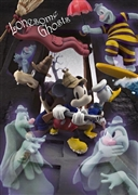 Mickey gets rid of Ghost 3D Lenticular Greeting Card