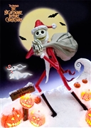Disney Tim Burton's The Nightmare Before Christmas 3D Lenticular Card