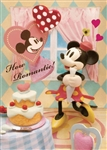 Disney Romantic Minnie 3D Lenticular Greeting Card