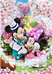 Disney Mickey and Minnie Dream Magic 3D Lenticular Greeting Card