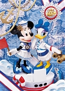 Disney Minnie & Daisy LOVE MARINE 3D Lenticular Greeting Card