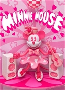 Disney Minnie Music 3D Lenticular Greeting Card