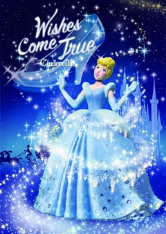 Disney Princess Cinderella Magic Night 3D Lenticular Card