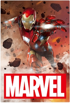 MARVEL Iron Man 3D Lenticular Card