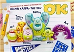 Disney Pixar Monsters University 3D Lenticular Greeting Card