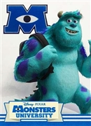 Disney Pixar Sulley in Monsters University 3D Lenticular Greeting Card