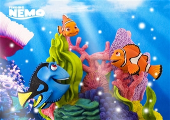 Disney Pixar Finding Nemo 3D Lenticular Greeting Card