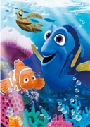 Disney Pixar Finding Nemo and Dory 3D Lenticular Greeting Card