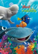 Disney Pixar Finding Nemo Best Fishy Friends 3D Lenticular Greeting Card