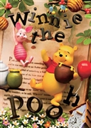 Pooh Picture Book 3D Lenticular Greeting Card