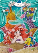 Disney Princess Ariel Paper Theater 3D Lenticular Card