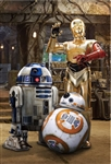 STAR WARS All star Droids 3D Lenticular Card