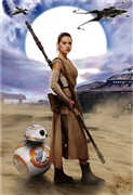 STAR WARS Encountering of Fate 3D Lenticular Card