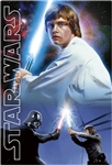 STAR WARS Luke-Jedi 3D Lenticular Card