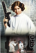 STAR WARS Princess Leia 3D Lenticular Card