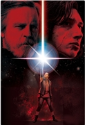 STAR WARS The Last Jedi Poster Image 3D Lenticular Card