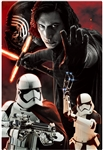 STAR WARS The Last Jedi Kylo Ren & The First Order 3D Lenticular Card