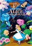 Disney Alice in Wonderland Vintage Art Series 3D Lenticular Card