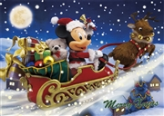 Disney Mickey Santa Claus 3D Lenticular Greeting Card