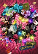 Disney ALICE in Wreath Of Wonderland 3D Lenticular Greeting Card