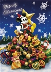 Disney Mickey and Christmas Tree 3D Lenticular Greeting Card