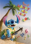 Disney Stitch A Happy New Year 3D Lenticular Greeting Card